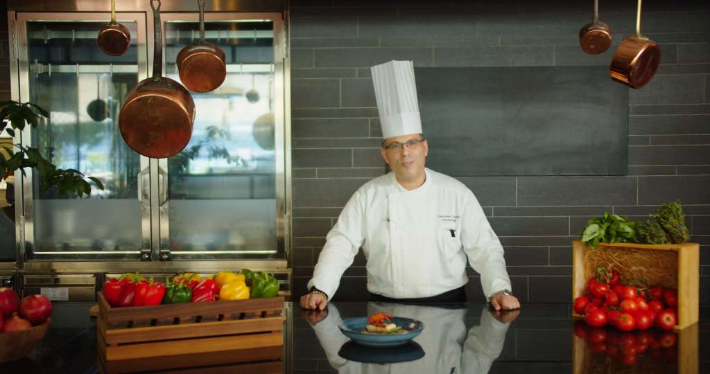 Budapest Marriot Cooking Video